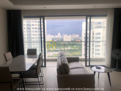 No doubt when this Diamond Island apartment is recognized as one of the most beautiful apartments in Saigon