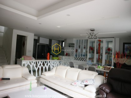 Gorgeous Duplex apartment in Masteri Thao Dien that makes you fascinated