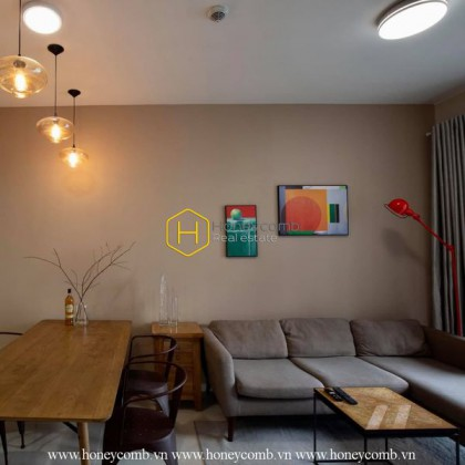 Masteri An Phu apartment - charming design in mysterious wooden tone