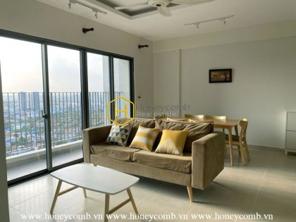Nice spacious 2 beds apartment in Masteri Thao Dien for rent