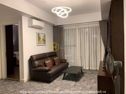 Morden style 2 bedroom apartment with high floor in Masteri Thao Dien