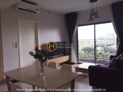 Nice furnished 2 beds apartment in Masteri Thao Dien, District 2