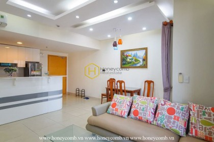 Lush contemporary 2 beds apartment with nice virw in Masteri Thao Dien