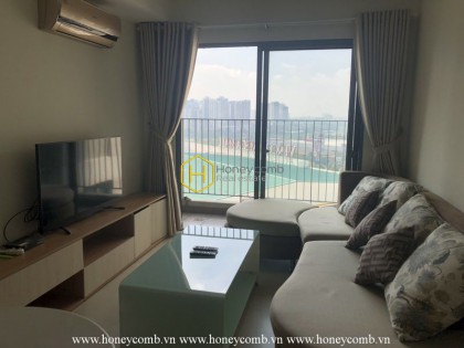 Crystal beauty apartment in Masteri Thao Dien hypnotizes your soul