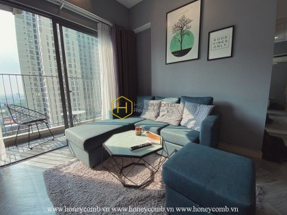 A charming design in Masteri Thao Dien apartment making many hearts immersed.