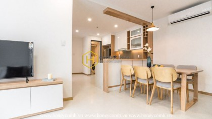 Excellent view- Delicate Decoration: Perfect Interfusion in New City apartment