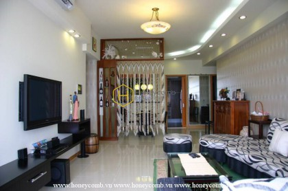 A flawless beauty with this apartment for rent in Saigon Pearl