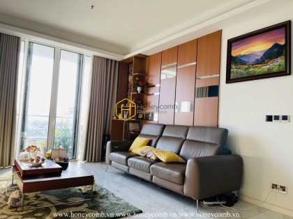 Suprised with the high-end furniture in Sala Sarica apartment