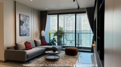 """Charming apartment in Sunwah Pearl makes you """"fall"""" from the very first moments"""