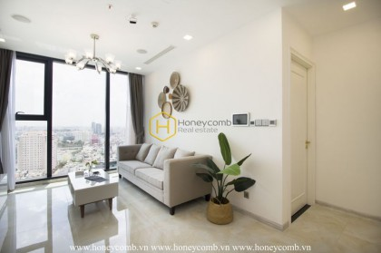No words can describe this gorgeous 1 bedroom-apartment in Vinhomes Golden River