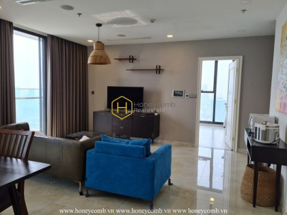 Let's tour an inspirational interior in Vinhomes Golden River apartment