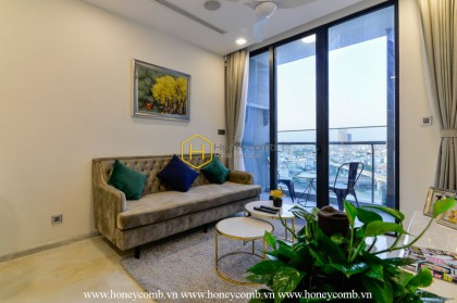 Enjoy a comfortable life with different modern interiors right in Vinhomes Golden River apartment