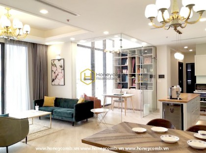The best life you deserve: Deluxe Penthouse with extraodinary city view in Vinhomes Golden River