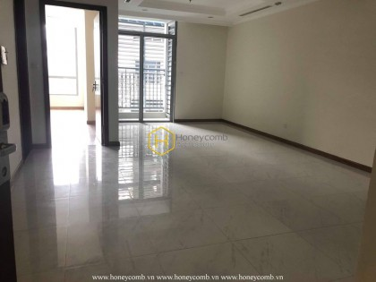 Unfurnished apartment with afforable price for rent at Vinhomes Central Park
