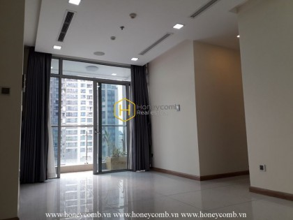 An unfurnished apartment with prime position is available now in Vinhomes Central Park