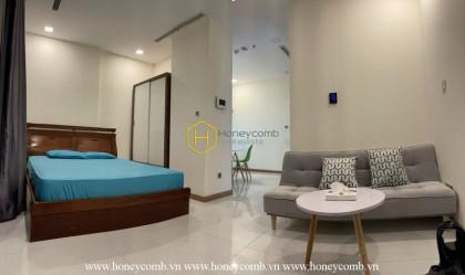 An interesting Vinhomes Central Park studio apartment that brings you enjoyable experiences