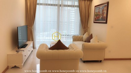 Chic and exclusive apartment for rent in Vinhomes Central Park