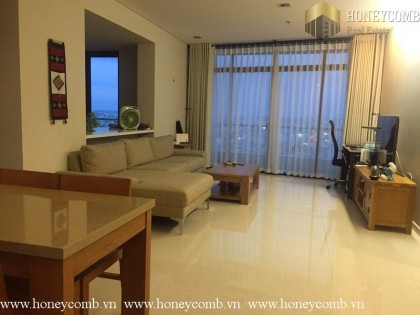 Wonderful 2 bedrooms apartment with high floor in City Garden