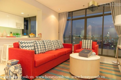 Three bedroom apartment Luxury interior design in City Garden