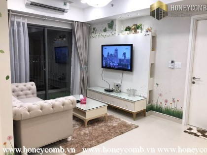 Modern furniture apartment in Masteri Thao Dien two bedroom for rent