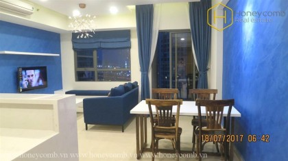 Two bedroom apartment open kitchen in Masteri for rent