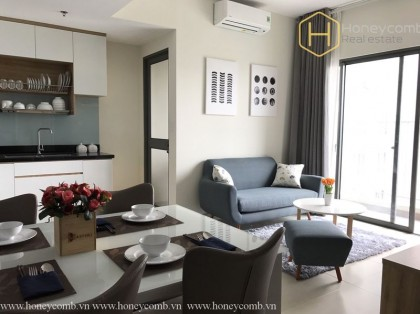 Masteri Thao Dien 2 beds apartment with nice furnished