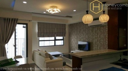 2 beds apartment with high floor and good price in Masteri Thao Dien