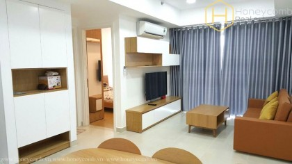 2 beds apartment with simple furnished in Masteri Thao Dien