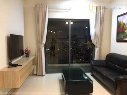 Top floor 2 bedrooms apartment with river view in Masteri Thao Dien