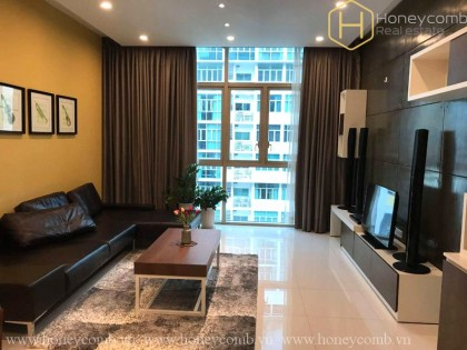 The Vista 3 bedrooms apartment with high floor for rent
