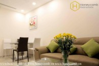2 beds apartment with sophisticated and modern interior in Vinhomes Golden River