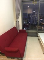 Masteri Thao Dien 2 beds apartment with city view and high floor for rent
