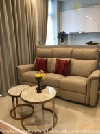 Two beds apartment with modern and gracious decoration in Vinhomes Golden River