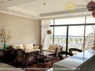 Fully furnished with 4 bedrooms apartment in Vinhomes Central Park