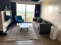 Căn hộ 3 giường với phong cách hiện đại và view sông ở Masteri Thảo Điền