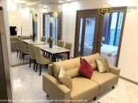 Phong cách đặc biệt với căn hộ 1 phòng ngủ cho thuê tại Vinhomes Central Park
