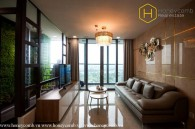 2-bedroom apartment with luxurious and modern decoration in Landmark 81