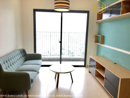 Two beds apartment modern style in Masteri for rent