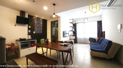 Nice furniture with 1 bedroom apartment in Masteri Thao Dien