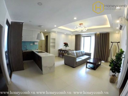 The stunning 3 beds apartment won't make you disappointed in Masteri Thao Dien