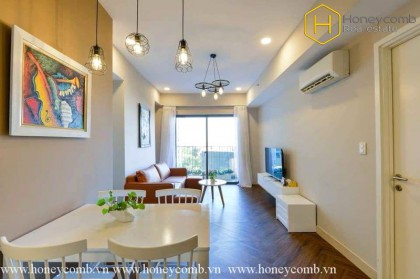 Bright and splendid 2 beds apartment in Masteri Thao Dien