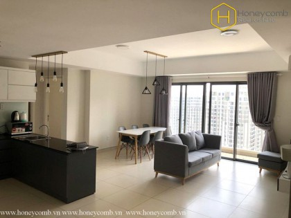 Masteri Thao Dien 3 beds apartment with open kitchen for rent