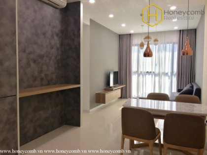 Beautiful decorated 2 bedrooms apartment in The Ascent Thao Dien