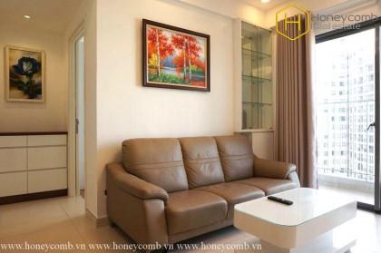 Masteri Thao Dien 2-bedrooms apartment luxury design and high floor
