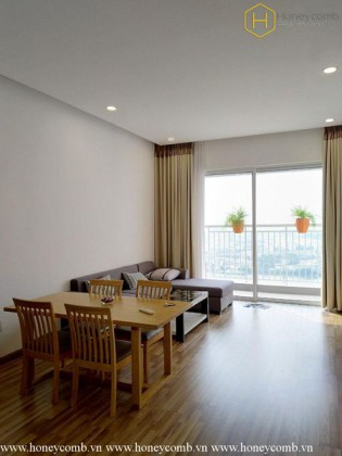 Simple style with 2 bedrooms apartment in Tropic Garden for rent