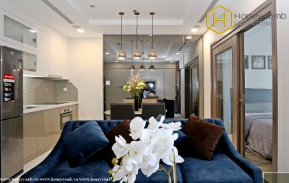 The most luxurious with 1 bedroom apartment in Landmark 81