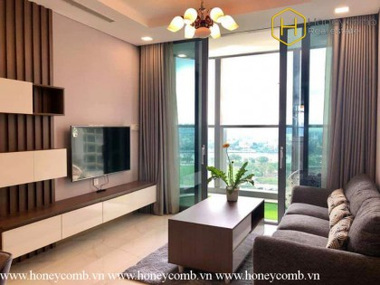 The most Luxury with 2 bedrooms apartment in Landmark81 for rent