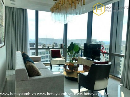 Modern Lifestyle with 4 bedrooms apartment in Landmark 81 for rent