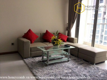 Simple style with 2 bedrooms apartment in vinhomes Central Park for rent