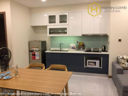Convenient with 1 bedroom apartment in Vinhomes Central Park for rent
